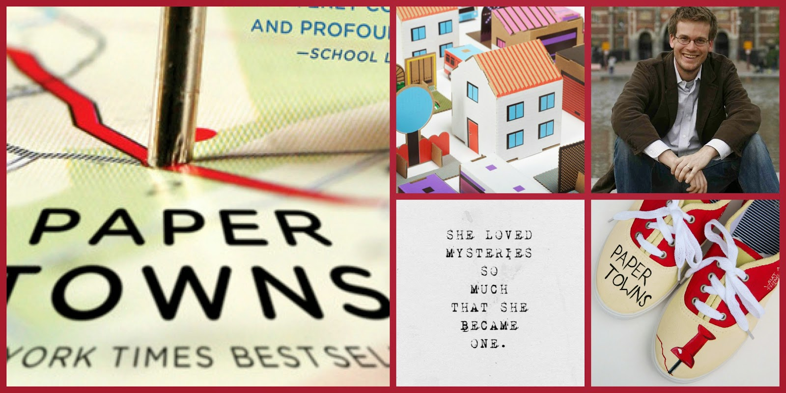 "High School Book Group Reads ""Paper Towns"" for May 28th"