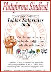 Tablas salariales de enero 2020