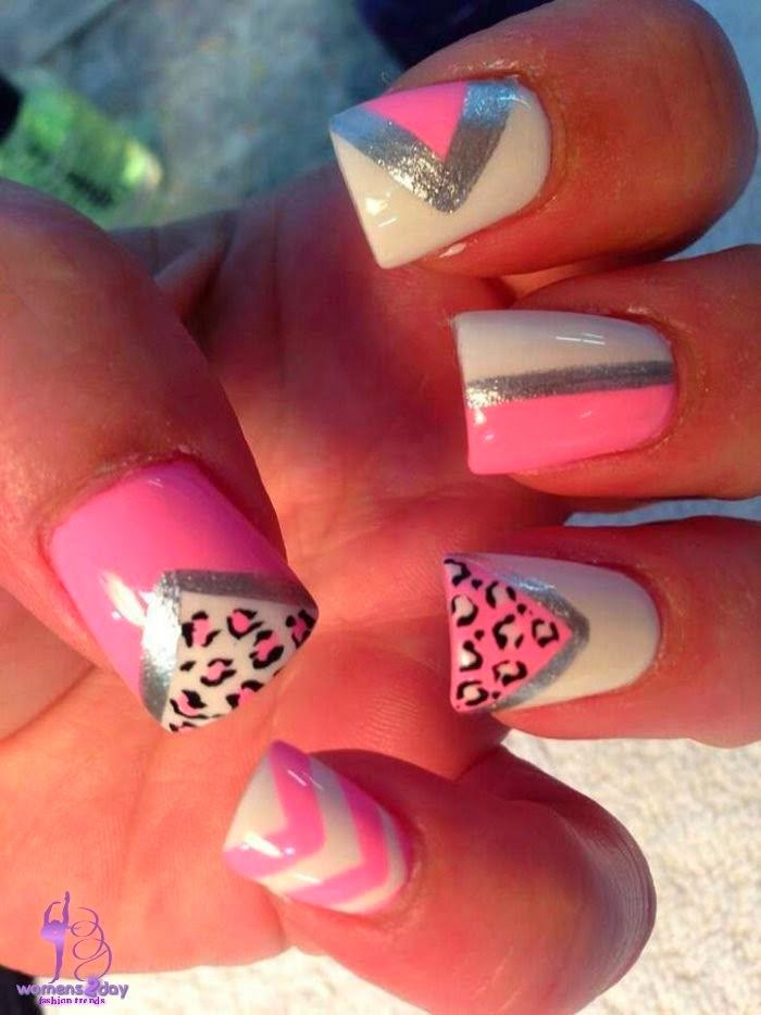 Nail art design summer 2014 / cute nail polish