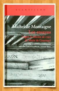 Y TAMBIÉN LEO (EN UN TRIPLE MORTAL) A MICHEL DE MONTAIGNE