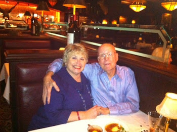 Joe and Bonnie at Capital Grille celebrating his 68th birthday