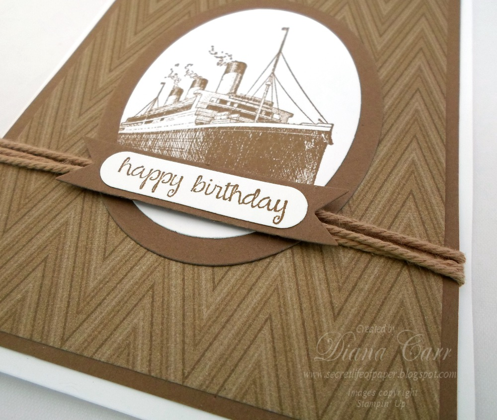 Traveler Birthday Card