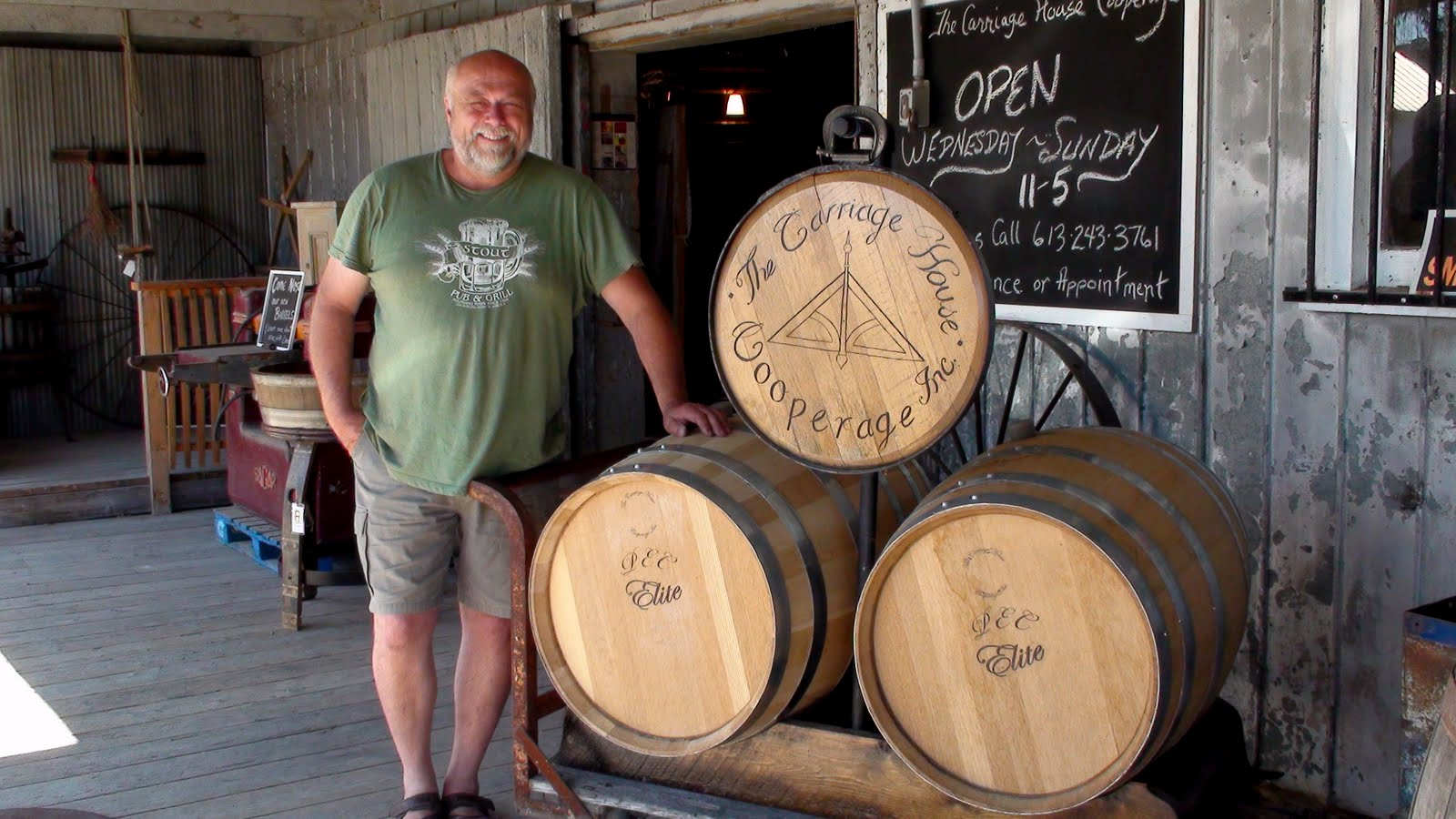 The owner of the barrel factory.