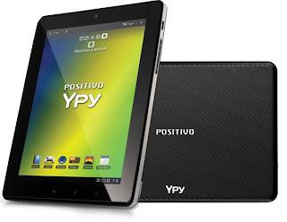 Com tela de 7 polegadas, o Ypy, da Positivo, capricha na personalização do Android e no conteúdo nacional.