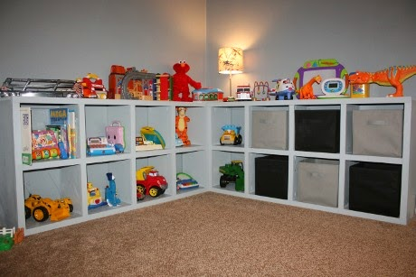 toy storage with L shape model