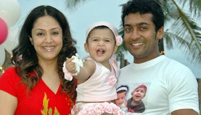 Surya celebrates his son Dev's birthday | Actor Surya