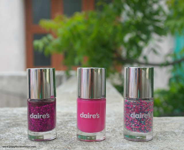 claire's nail polish review