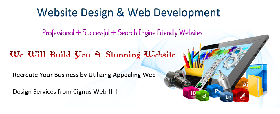 Website Design Banner