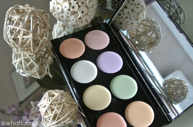 Makeup Revolution Ultra Base Corrector Palette Review
