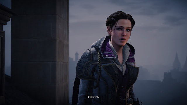 Assassin's Creed Syndicate evie frye be careful