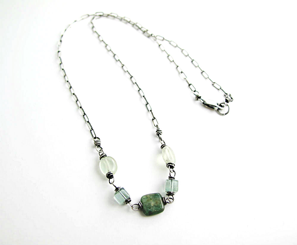Forest Cry Necklace by Beth Hemmila of Hint Jewelry