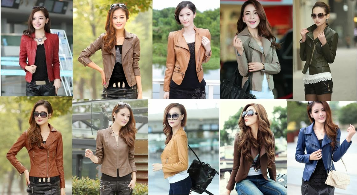 Multi-color PU Leather Jackets