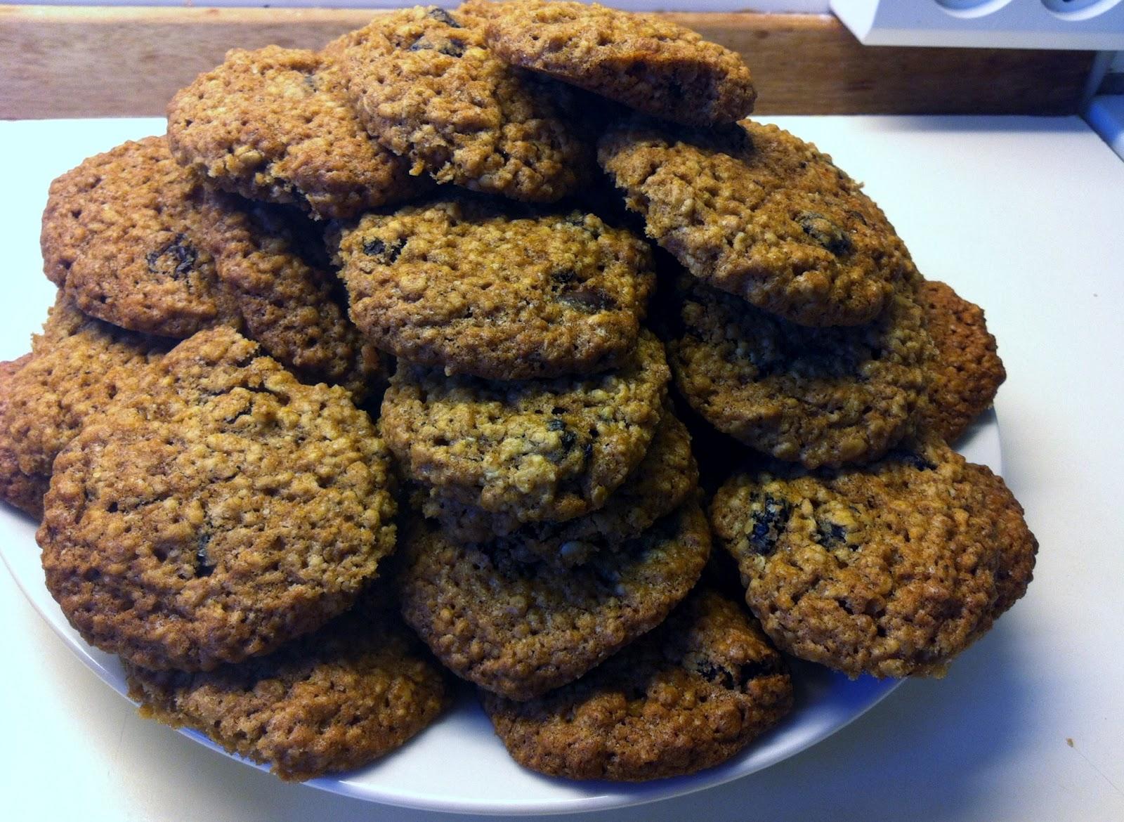 Rosin-havre cookies