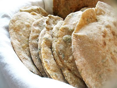fenugreek chapatis