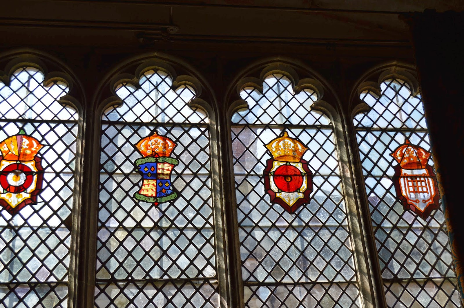 Ightham Mote, visit, England, History, Historical, interior, day trip, National trust, photo, photography, Medieval, Tudor, windows, diamond