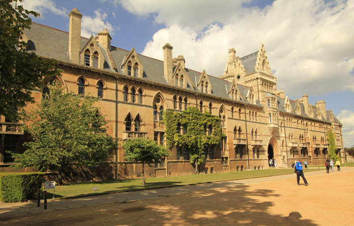 Christ Church College in Oxford University
