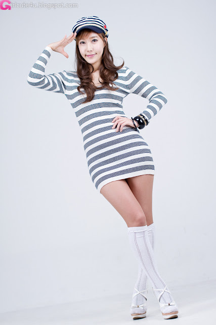 5 Im Min Young in Mini Dress-very cute asian girl-girlcute4u.blogspot.com