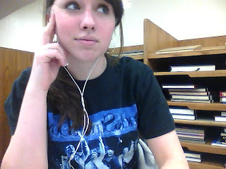 This was taken inconspicuously in the library.