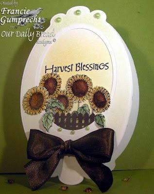 Our Daily Bread designs Harvest Blessings Designer Francie Gumprecht