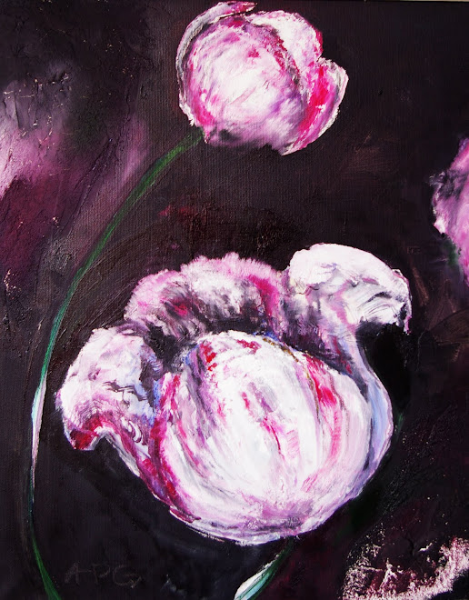 Flowers 2 - 40 x 50 cm