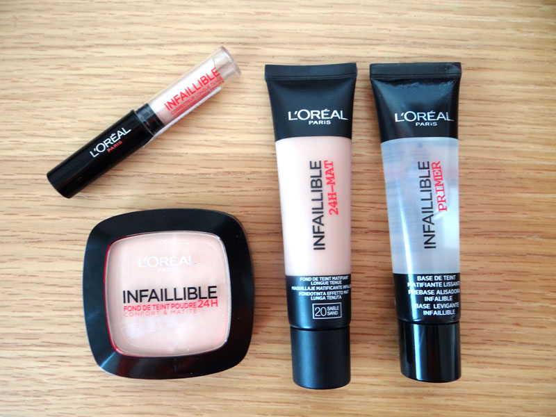 maquillage l'oreal infaillible