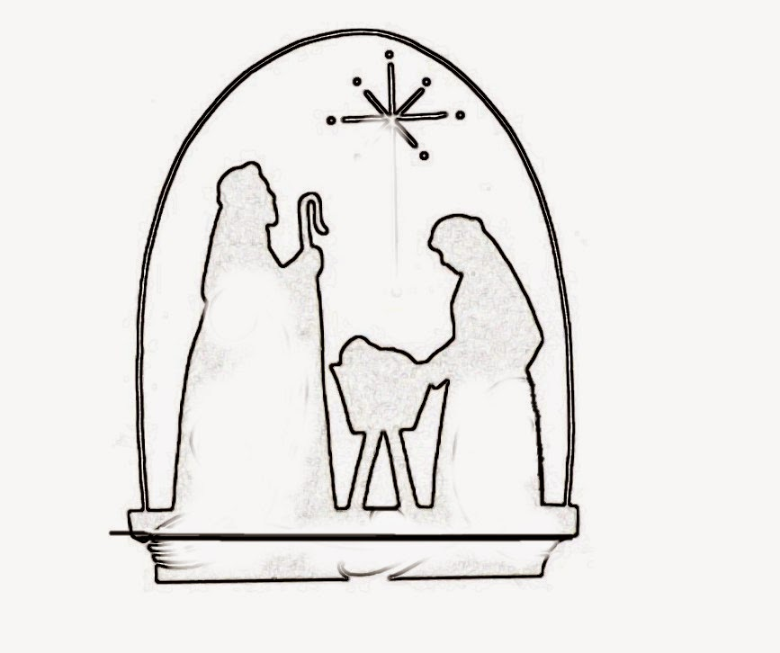 Nativity Scene Templates. | Oh My Fiesta! in english