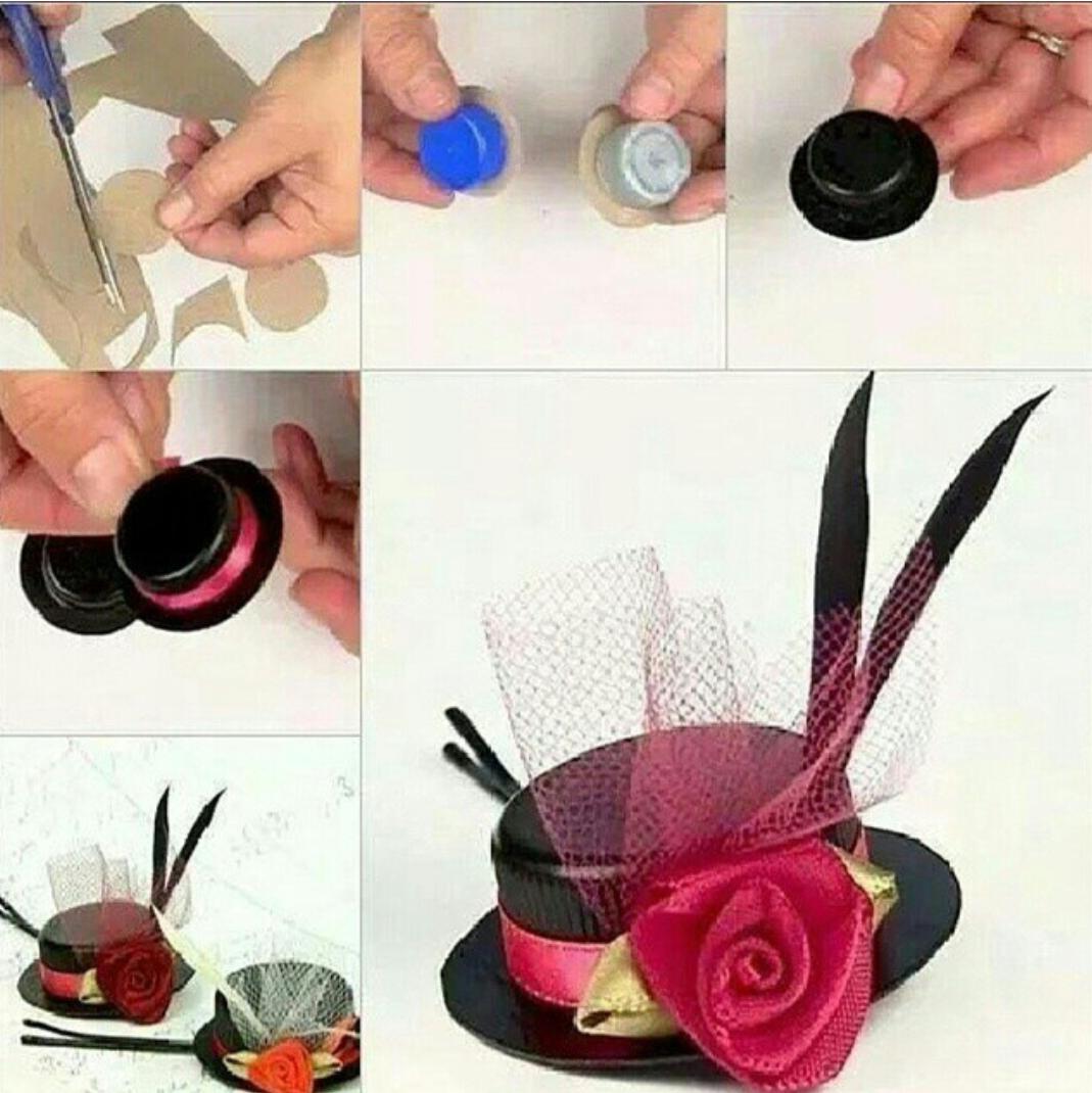 Как сделать шляпу для барби