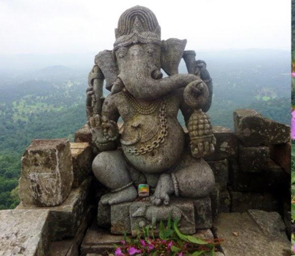 Ganesha Statue At Dhol KAl