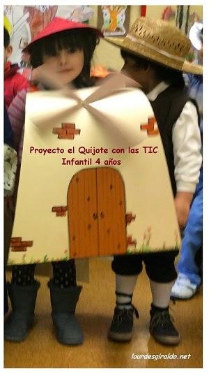 Proyecto El Quijote con las TIC