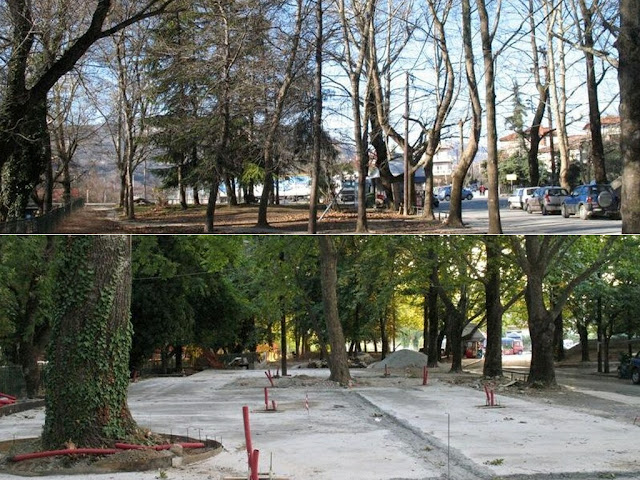 Εις μνήμην ενός πάρκου χάρη στα τσιμεντοσχέδια δημάρχων