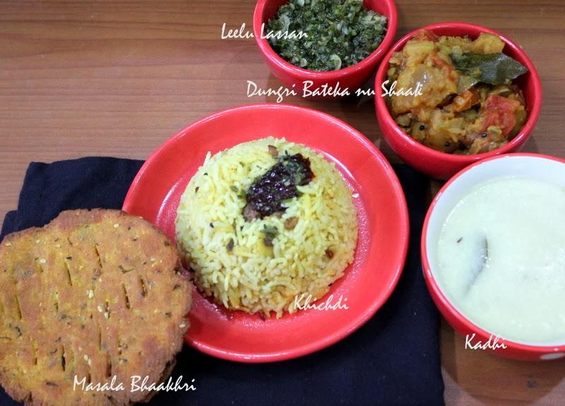 Gujarati dinner kadhi khichdi ribbons to pastas gujarati dinner kadhi khichdi forumfinder Choice Image