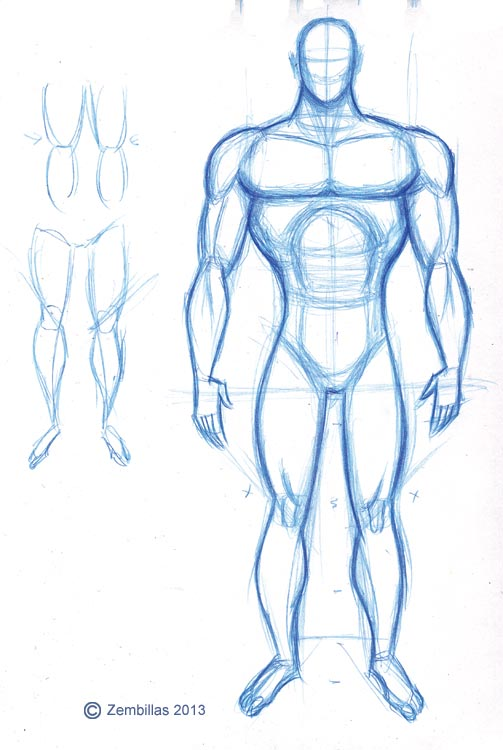 Male Figure Drawing Poses | www.imgkid.com - The Image Kid ...