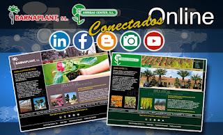 Actualizacion de las paginas web de Barnaplant y Arribas Center