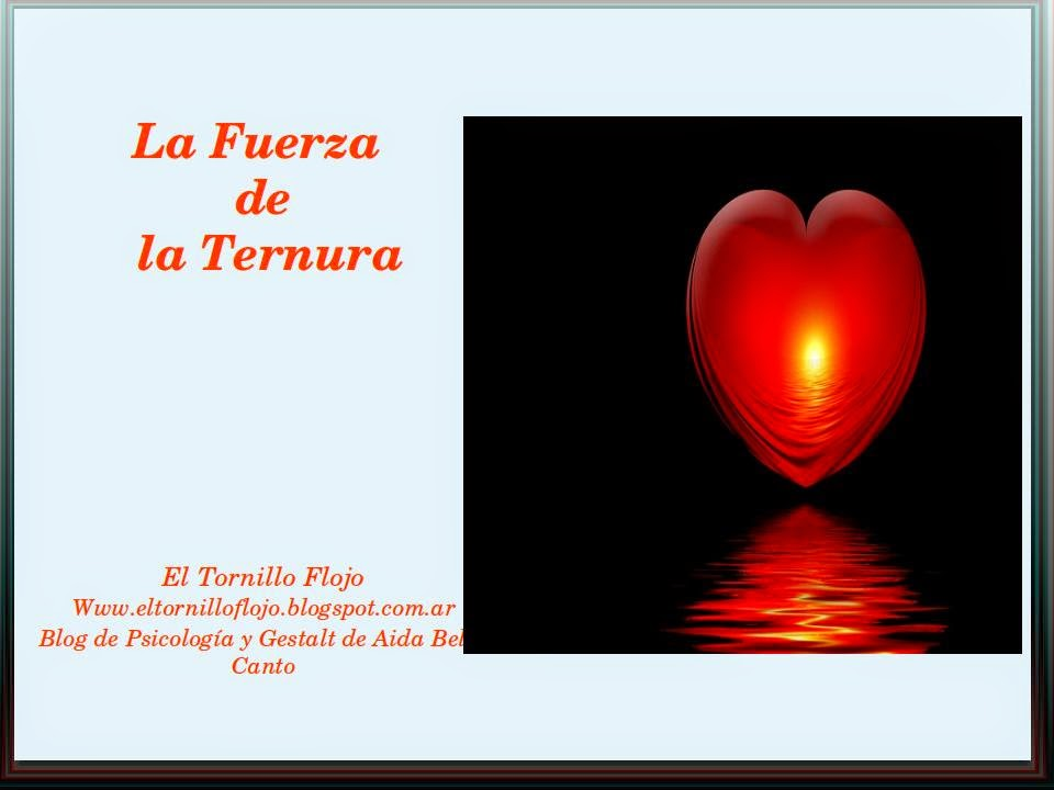 Ternura, Bondad, Emociones positivas, Bienestar, Psicologia positiva, Aida Bello Canto, vinculos