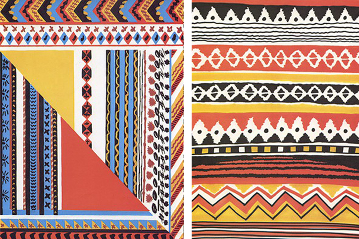 ethnic patterns, graphic prints, SS2012 design