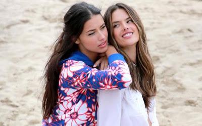 Adriana Lima et Alessandra Ambrosio : un duo sexy et complice