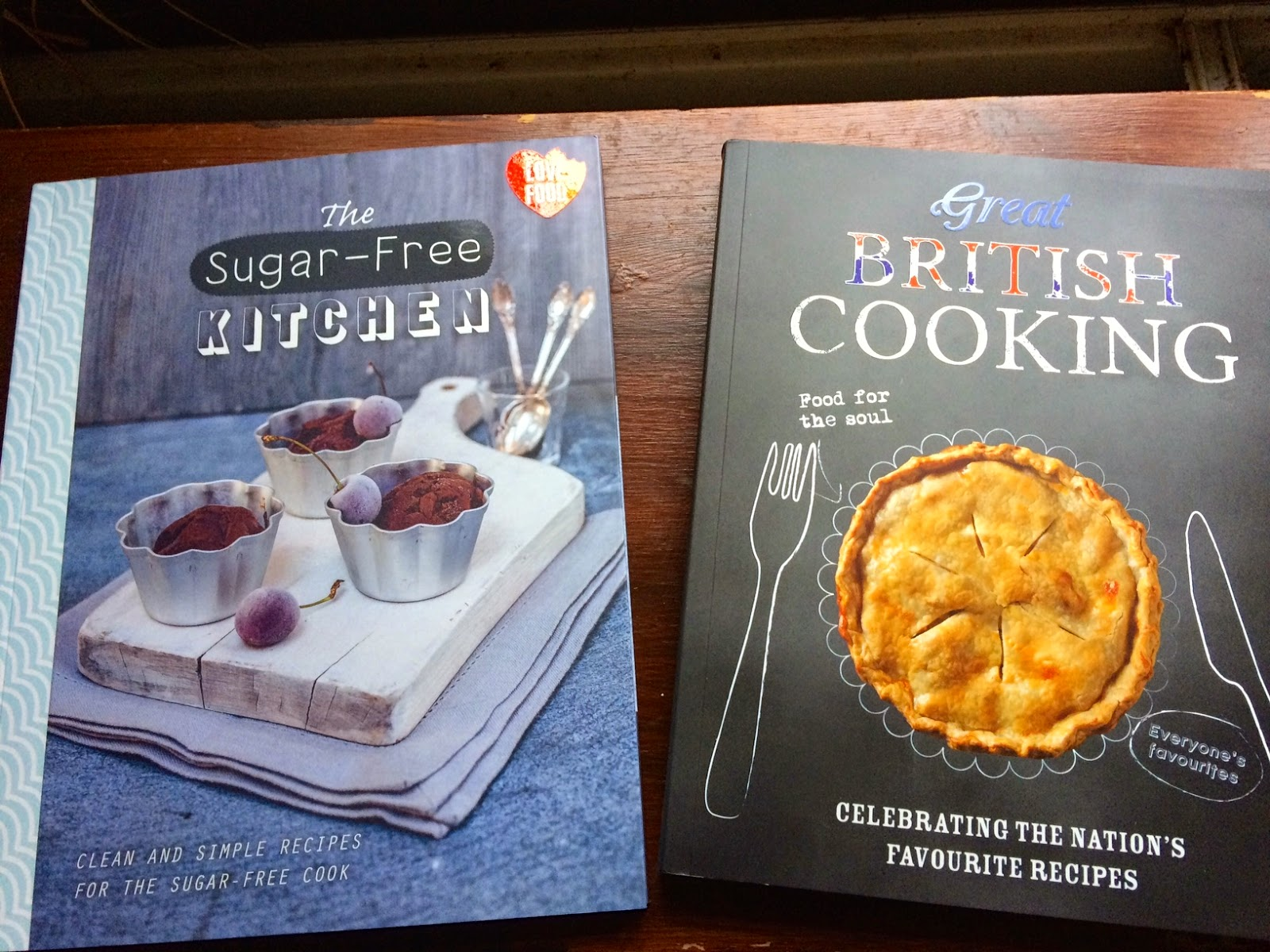 recipe books from Parragon Love Food range