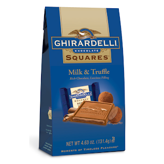 Ghirardelli Milk & Truffle Squares