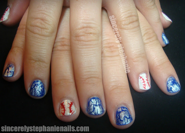 baseball-nails-jays-crackle-orly-royal-navy