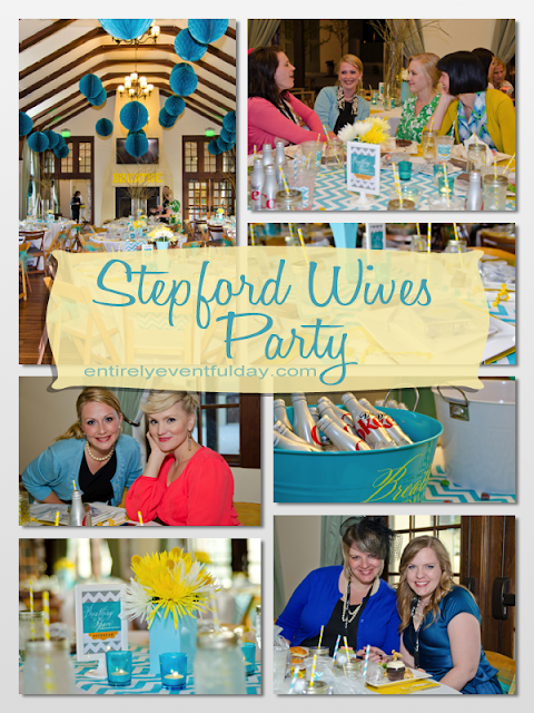 DIY Stepford Wives Party Theme Idea. Fun color scheme and party ideas! entirelyeventfulday.com