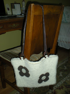 Front of Felted Purse