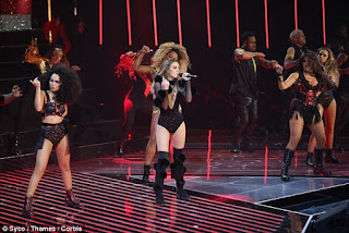 Little Mix hit singles during all-star X Factor final