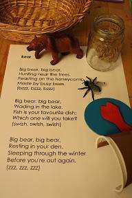 bear poem