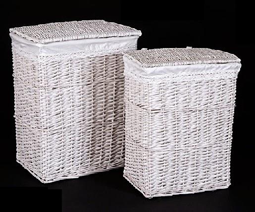 Cester a y mimbre organiza tu hogar 2 cestas para la ropa sucia - Cesto ropa mimbre ...