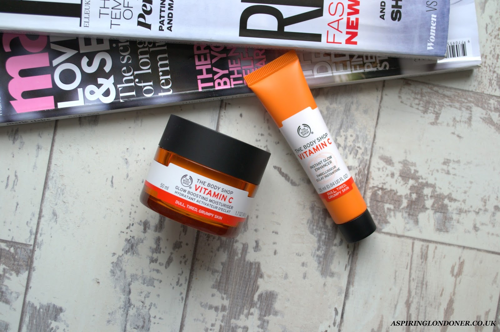The Body Shop Vitamin C Moisturiser & Glow Enhancer Review - Aspiring Londoner