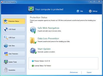 USB Disk Security v6.2.0.18 Full Version with Key