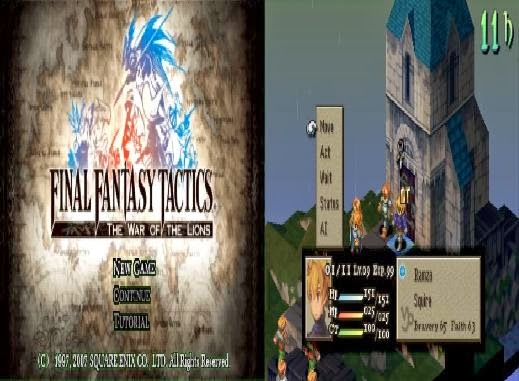 Download Final Fantasy Tactics The War Of The Lions PSP