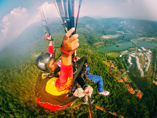 Adventurous: Paragliding Sites in Malaysia