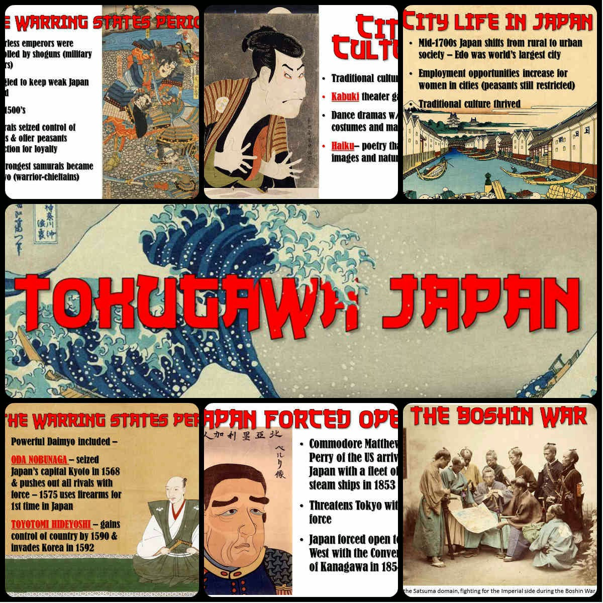 tokugawa shogunate in japan's history Home / history / tokugawa political system the bakufu or shogunate had some power across all of japan the tokugawa shogunate also had responsibilities and.