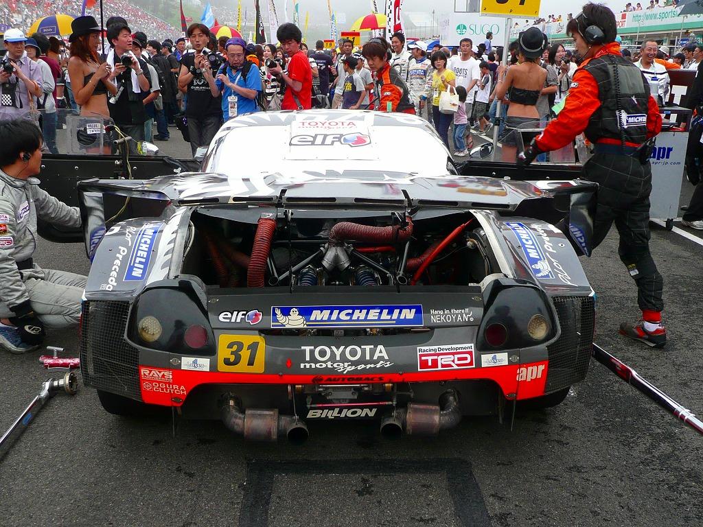 Toyota MR2, roadster, MR-S, MK3, ZZW30, wyścigi, sport, tor wyścigowy, japońskie, rywalizacja, zawody samochodowe, Super GT, JGTC, apr
